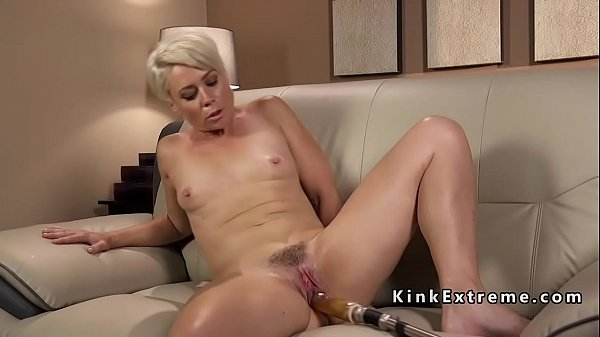 Machine, Mature fucked, Mature blondes, Blonde mature