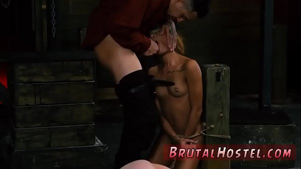 Brutal, Big pussy, Chained