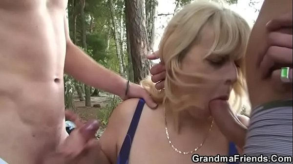 Grannies, Hot granny, Granny outdoor