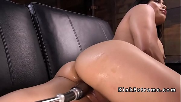 Machine, Big ass fucking, Asian big ass