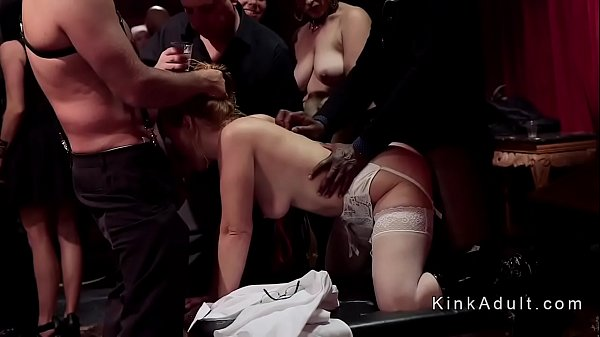 Orgy, Caning