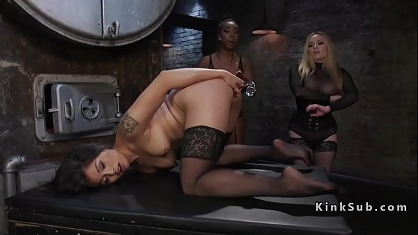 Enema, Blonde interracial