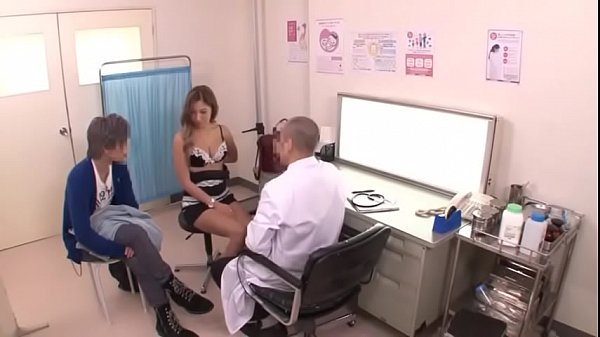 Doctor, Gyno, Japanese beauty, Gyno x, Gyno exam
