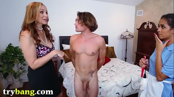 Julia ann, Brazil, The maid, Step son