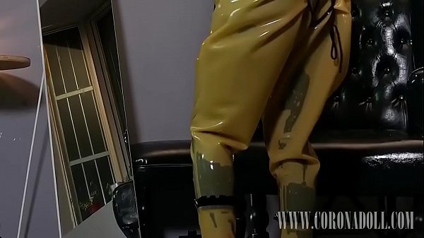 Latex, Gloves, Self bondage