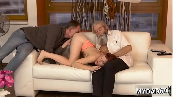 Old and young, Tickling, Young feet, Showing