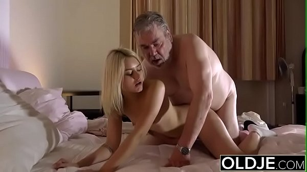 Teen swallow, Old cock
